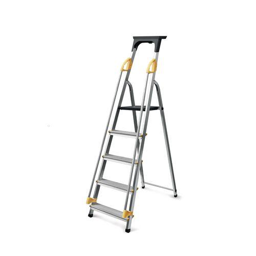 Safety Platform Step 5 Tread En131 150Kg Capacity