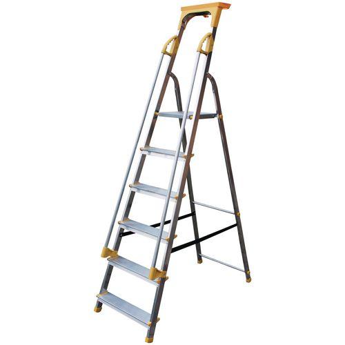 Safety Platform Step 6 Tread En131 150Kg Capacity