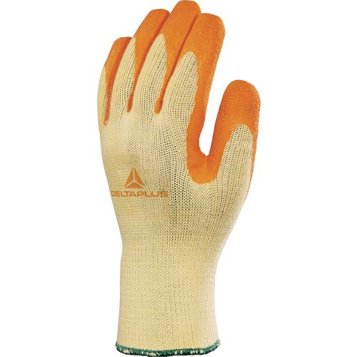Latex Coated Knitted Polyester &Cotton Glove Size 8