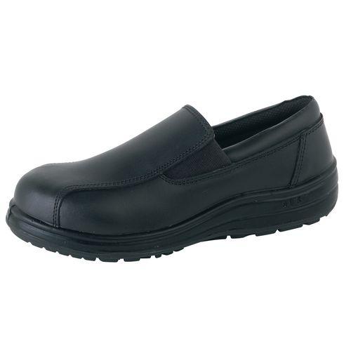 Ladies Slip On Venice Action Leather Shoe Uk Size 4 Eu Size 37