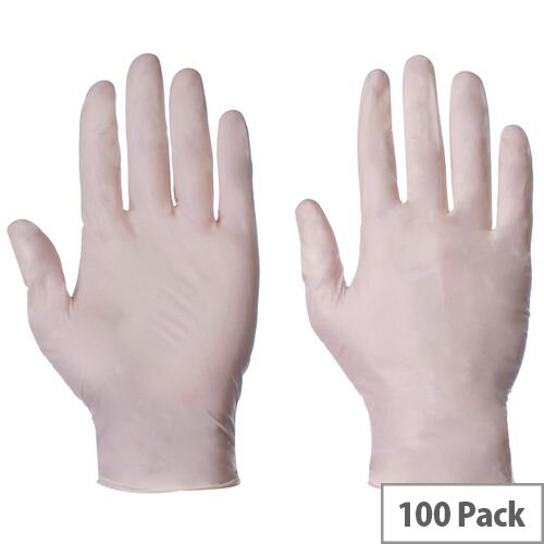 Latex Powdered Gloves Small