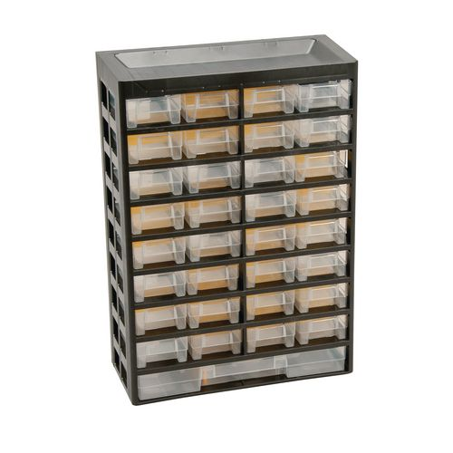 33-Drawer Basic Cabinet 435X305X135 Pk Of 2