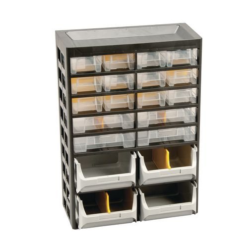 20-Drawer Basic Cabinet 435X305X170 Pk Of 2