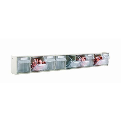 Clear Tilting Drawer Unit 9 Drawer (Pack Of 10)