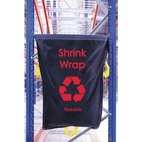 Blue Racksack for Shrinkwrap