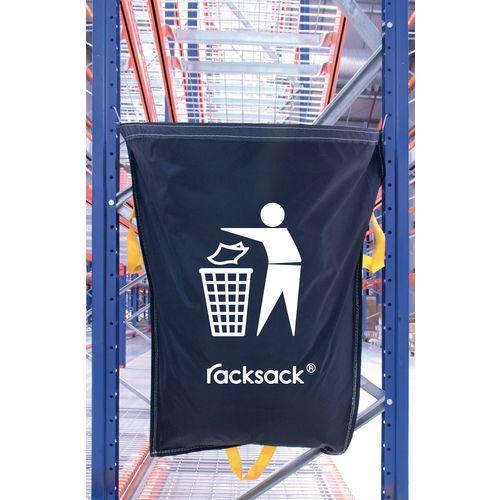 Blue Racksack for General Waste Symbol