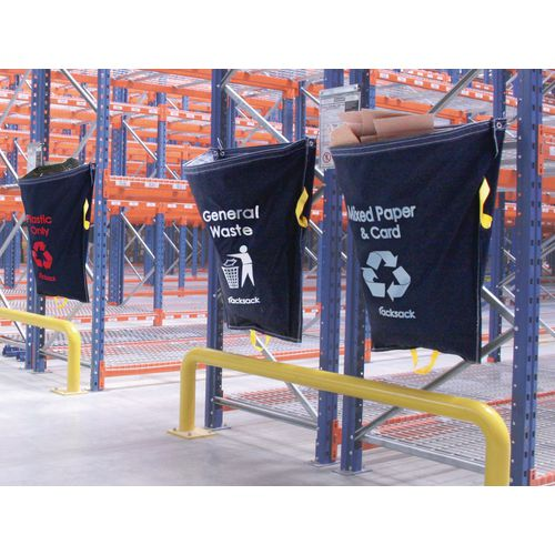 Blue Racksack for Plastic Strapping