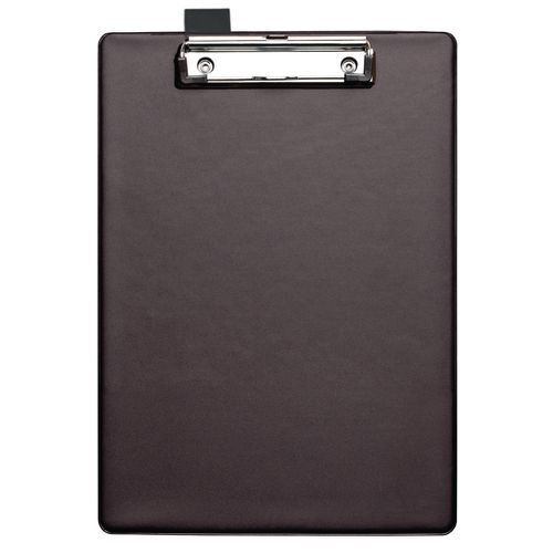 Pvc Clipboard With Pen Holder A4 Black