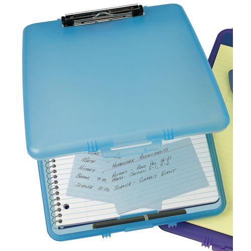 Blue Slim Case Clipboard