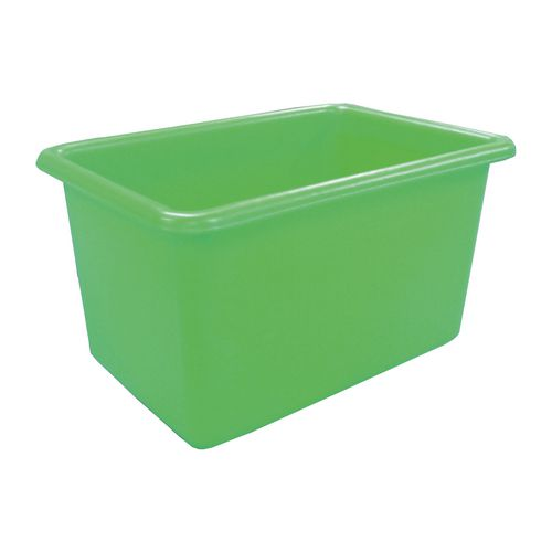 Rectangular Food Grade Plastic Storage Box With Tapered Sides 320L L1010xW685xH635mm Green