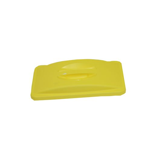 Slim Jim Lid With Handle  Yellow