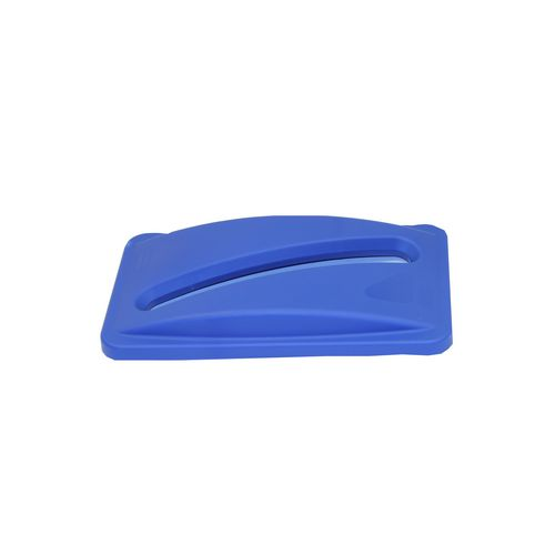 Slim Jim Paper Recycling Lid  Blue