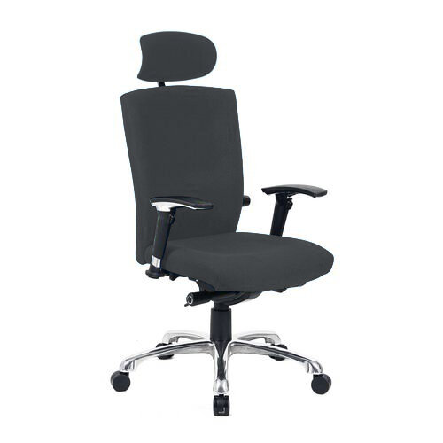 Wave Extra Task Chair Black Fabric