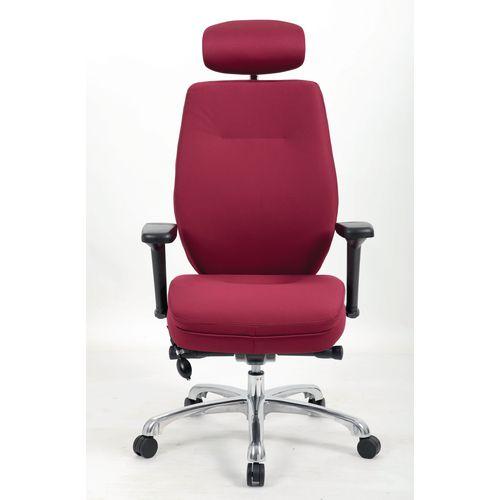 Inspiration Ergonomic Fabric Executive Chair Wine