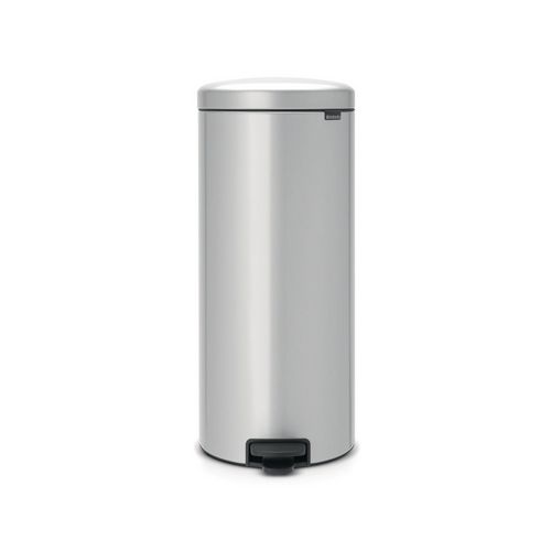 Brabantia New Icon 30 Litre Pedal Bin Metallic Grey