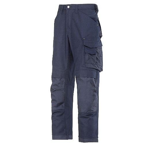 "Snickers 3314 Canvas+ Trousers Navy 30"" - 30"""