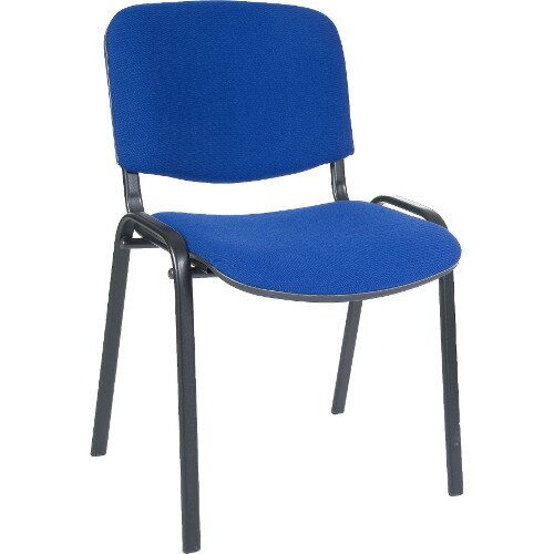 Conference Fabric Chair In Blue