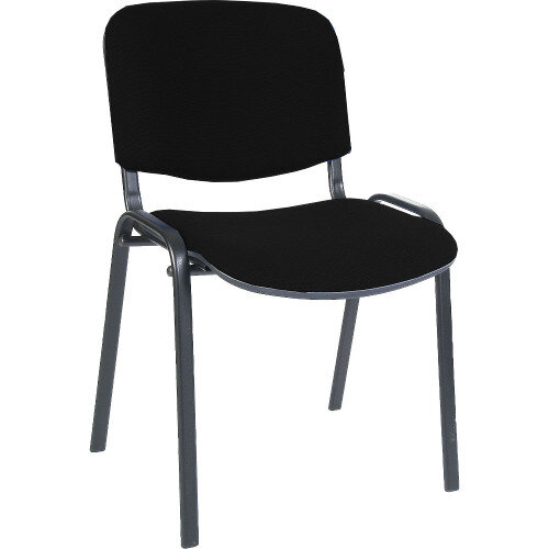 Conference Fabric Chair In Black