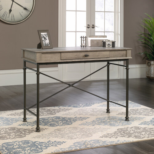 Canal Heights Console Home Office Desk W1080mm Northern Oak Finish