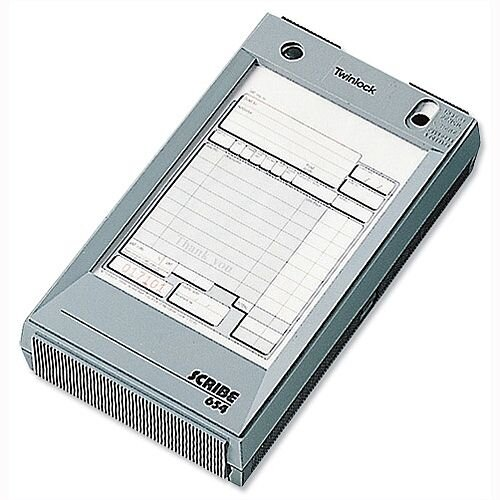 Twinlock Scribe 654 Scribe Register 165x102mm for Business Forms