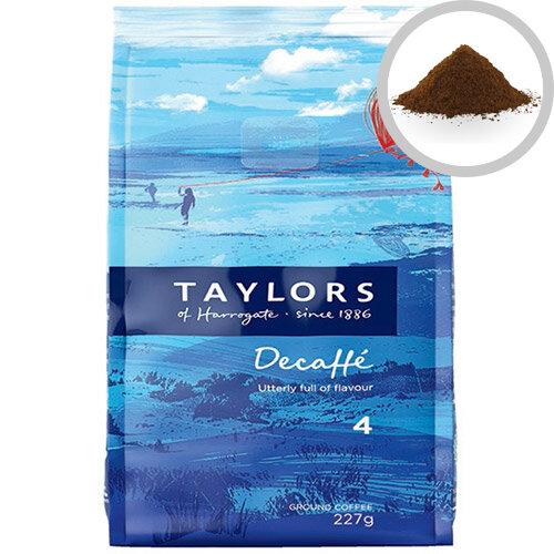 Taylors Decaffeinated Roast &Ground Coffee 227g Pack of 1 3687