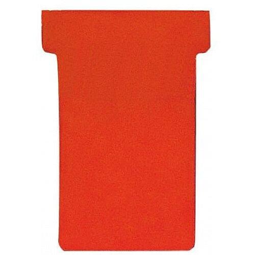 Franken T-Card Size 1 Red Pack of 100 TK101