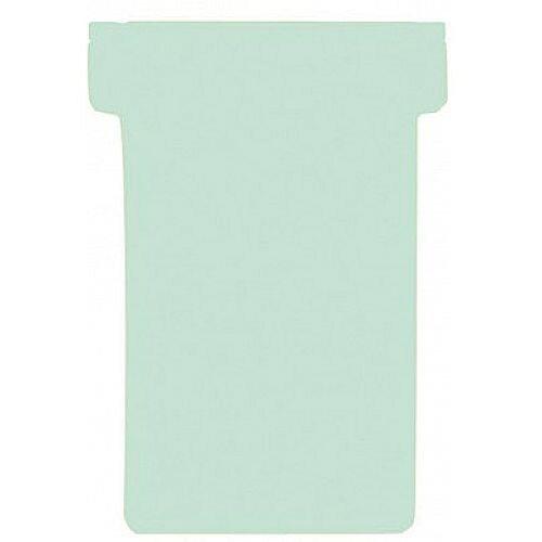 Franken T-Card Size 1 Light Green Pack of 100 TK119