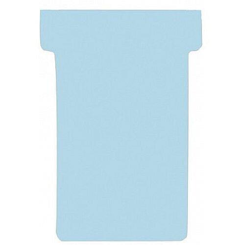 Franken T-Card Size 2 Light Blue Pack of 100 TK218