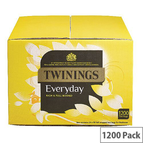 Twinings Everyday Tea Bags Pack of 1100 F07947