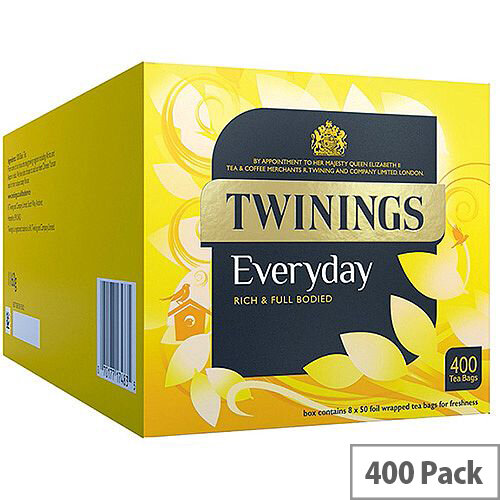 Twinings Everday Tea Bags Pack 400 F13683