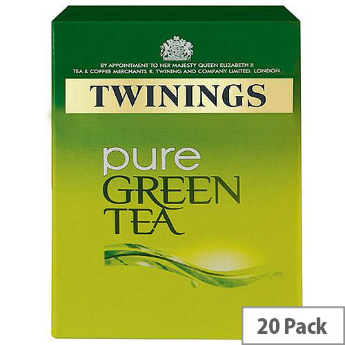 Twinings Pure Green Infusions Tea Bags Pack 20