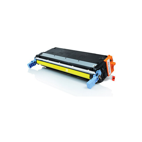 Compatible HP C9732A 645A Yellow 12000 Page Yield Laser Toner Cartridge