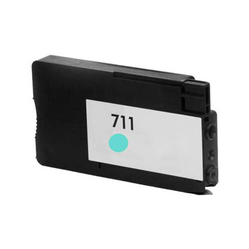 Compatible HP CZ130A 711 Cyan Hi Cap 30ml Page Yield Ink Cartridge