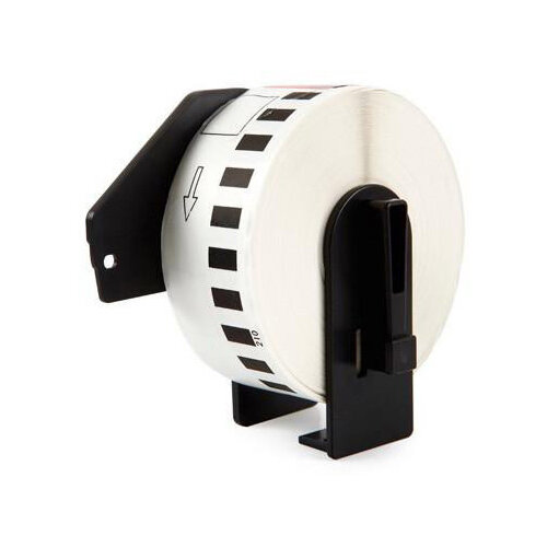 Compatible Brother DK22210 Black on White Labels 29mm x 30.5m Pack of 10