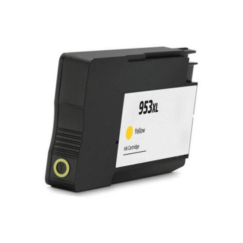 Compatible HP F6U18AE 953XL Yellow 26 ml Page Yield Ink Cartridge