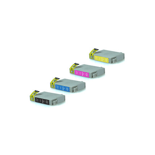 Compatible Epson C13T07154010 T0715 Assorted >420 each Page Yield Ink Cartridge