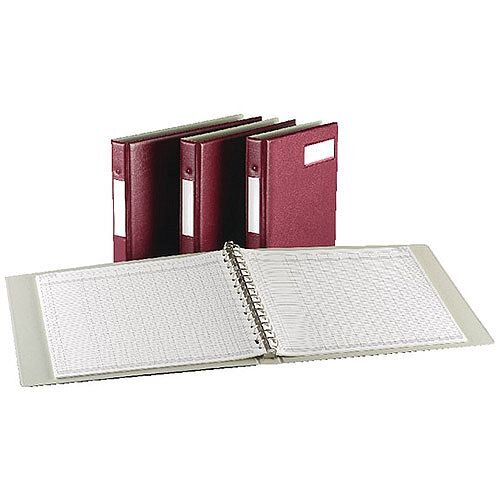 Variform V4MP Binder Maroon 75149