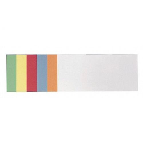 Franken Self Adhesive Training Cards Rectangular 205x95mm Assorted Colours Pack of 300 UMZS 1020 99