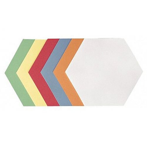 Franken Self Adhesive Training Cards Honeycomb 190x165mm Assorted Colours Pack of 300 UMZS 1719 99
