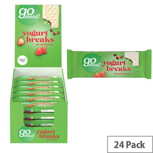 Go Ahead Strawberry Yoghurt Break Pack of 24 11300