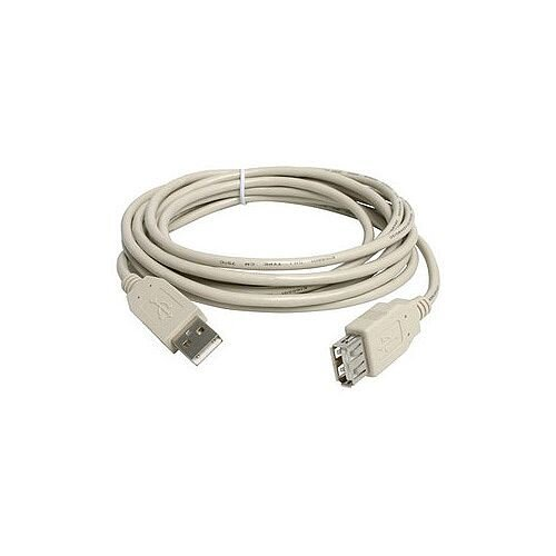 StarTech 10ft USB 2.0 Extension Cable A to A M/F 1 x Type A Male USB 1 x Type A Female USB Beige USBEXTAA10