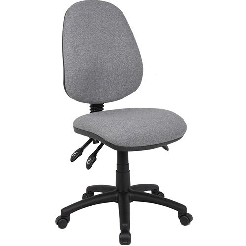 Vantage 200 3 lever asynchro operators chair with no arms - grey