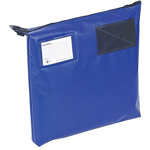Go Secure Mail Pouch Blue 381x336x76mm (Pack of 1) GP1B