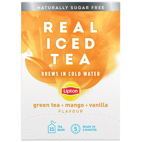 Lipton Cold Brew Green Tea Mango Pack of 15 67737992