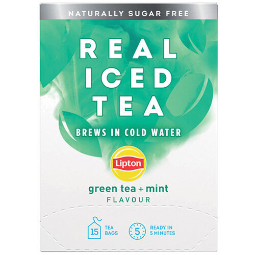 Lipton Cold Brew Green Tea Mint Pack of 15 67737998