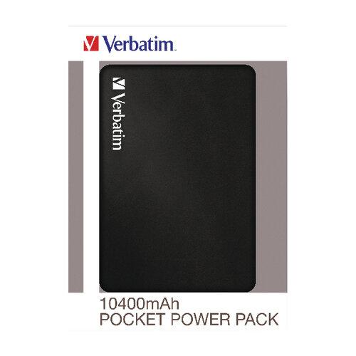 Verbatim Pocket Power Pack 10400mAh with LED Indicator 49946