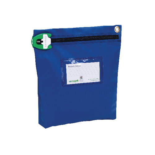 Versapak High Security Pouch 267x267x50mm Blue CCB1 T2SEAL