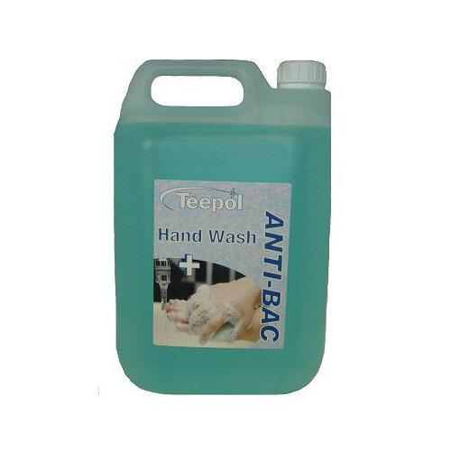 SOAP TEEPOL 0518 LSC ANTI-BACTERIAL HAND WASH 5LTR