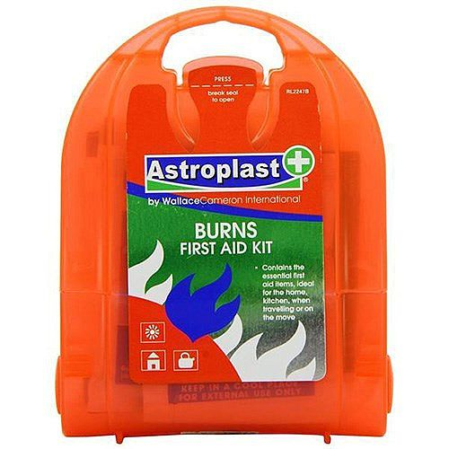 Wallace Cameron Micro Burns First Aid Kit – Covers Up To 5 People, Compact, Easily Identifiable, HSA Approved, High Quality Brand &Lightweight (1044229)