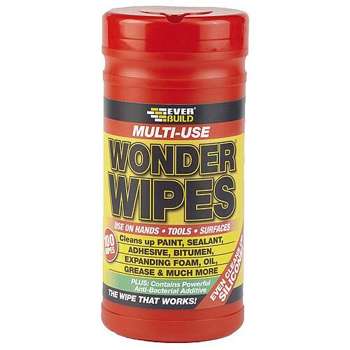 EverBuild Wonder Wipes Tub of 100